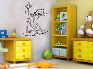 Bambi Cartoon Disney Nursery Room Boys Girls Kids Toddlers Mural Vinyl Decal Sticker D 141 Home & Kitchen