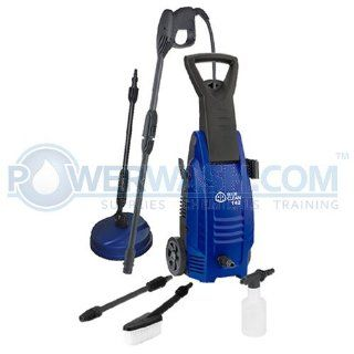 AR Blue Clean AR142 P 1600 PSI Cold Water Electric Pressure Washer with Accessories