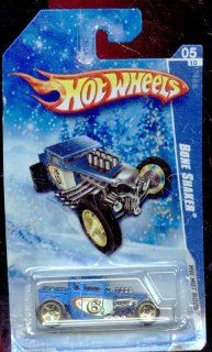 Hot Wheels 2010 143/240 Hw Hot Rods 05/10 Bone Shaker Snow Scene Card 164 Scale Toys & Games