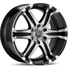 "Enkei ETS  Truck Series Wheel, Black Machined (18x8.5""   6x139.7/6x5.5, 10mm Offset) One Wheel/Rim Automotive"