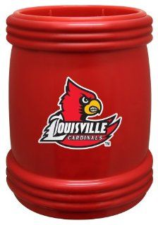 NCAA Louisville Cardinals Magna Coolie  Cold Beverage Koozies  Sports & Outdoors