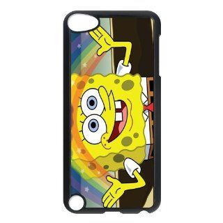 Personalized Music Case SpongeBob SquarePants iPod Touch 5th Case Durable Plastic Hard Case for Ipod Touch 5th Generation IT5SS142   Players & Accessories