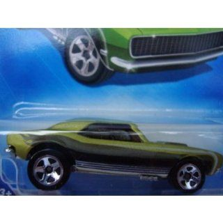 Hot Wheels 1967 Chevy Camaro Open Hood 5 Spoke '09 Green #149 1/64 Scale Collector Toys & Games