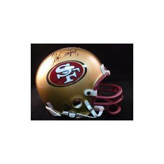 Signed Smith, Alex San Francisco 49ers Replica Mini Helmet autographed Sports Collectibles