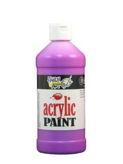 Handy Art by Rock Paint 101 159 Student Acrylic Paint, 1, Fluorescent Violet, 16 Ounce Arts, Crafts & Sewing