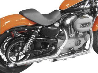 Cycle Shack 1 3/4in. Drag Pipes Exhaust System   Slash Cut   Chrome , Color Chrome PHD 161 Automotive