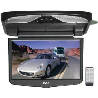 PYLE PLRD163IF 16.4'' TFT LCD FLIP DOWN MONITOR WITH BUILT IN DVD PLAYER  Vehicle Overhead Video