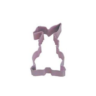 Dress My Cupcake DMC41CC1205/Q Easter Floppy Bunny Cookie Cutter, 3.5 Inch, Pink Kitchen & Dining