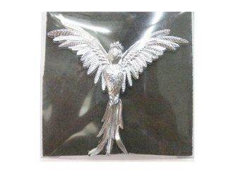 ANGEL Size  8 cm. Emblem Auto Car Accessories By Chrome 3D Badge 3M Adhesive Automotive