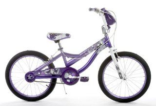 Huffy Girls Hannah Montana 20 Inch Bike (Lavender/Purple)  Childrens Bicycles  Sports & Outdoors