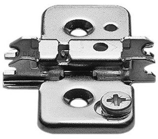 Blum B173H7100 Screw on Stamped Steel Clip top Mounting Plate 0mm (250 Plates)   Cabinet And Furniture Hinges