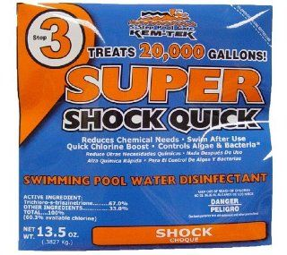 Kem Tek Super Shock Quick, 28 Pack Garden, Lawn, Supply, Maintenance  Lawn And Garden Spreaders  Patio, Lawn & Garden