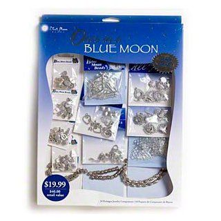 "Component, Blue Moon Beads�, ""pewter"" (zinc based alloy), 7mm 20x14mm multi shape. Sold per 174 piece set. Arts, Crafts & Sewing"
