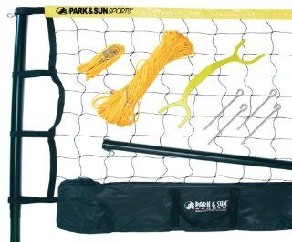 Park and Sun Sports Spectrum 179 Volleyball Set Color Yellow Sports & Outdoors