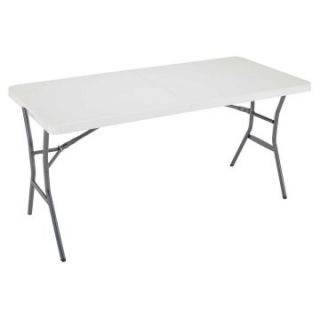 Lifetime 5 ft. Rectangle Fold in Half Folding Table   Folding Tables