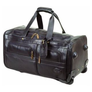 ClaireChase Personalized 22 in. Rolling Duffel Bag   Black   Sports & Duffel Bags