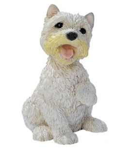 West Highland Terrier Puppy Dog Statue   Garden Statues