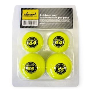 Killerspin 203 21 44 and 55 Millimeter Table Tennis Balls   4 Pack   Table Tennis Equipment