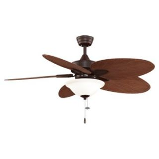 Fanimation Windpointe 52 In. Indoor / Outdoor Ceiling Fan with Light   Ceiling Fans