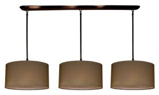 Z Lite Nikko Pool Table/Island Light   59W in. Olde Bronze/Taupe   Ceiling Lighting