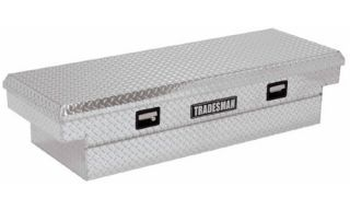 Tradesman Mid size Truck 64 in. Aluminum Cross Bed Tool Box   Truck Tool Boxes