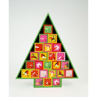 One Hundred 80 Degrees Tree Advent Calendar   Decorative Accents