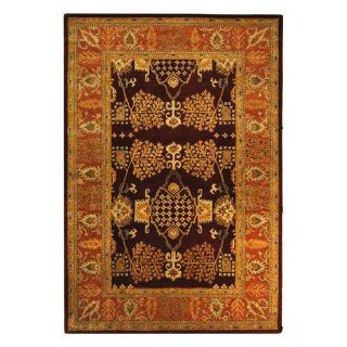 Safavieh Bergama BRG190C Area Rug   Red/Rust   Area Rugs