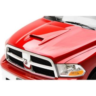 2009 2010 Dodge Ram 1500 Hood Scoop   3dCarbon, Direct fit, Plastic, Primed