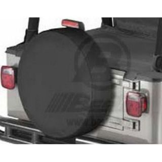 2007 2012 Jeep Wrangler (JK) Tire Cover   Bestop, Universal, Fabric, 32 in.