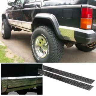 2001 2012 Chevrolet Silverado 2500 HD Rocker Panel   Willmore Mfg, Direct fit, 3M adhesive tape, Aluminum