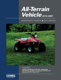 1988 1992 Polaris Trail Boss 250 4x4 Manual   Clymer Publications, 9780872885141, 424, Service and repair