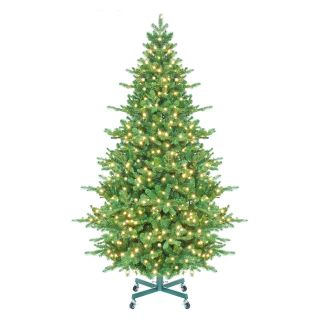 Tahoe Instant Shape Pre Lit LED Full Christmas Tree   Christmas