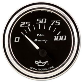 Equus Replacement Series Illuminated Oil Pressure Gauges