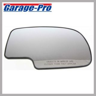 2007 2013 Chevrolet Silverado 1500 Mirror Glass   Garage Pro, Direct fit, Without turn signal, Heated