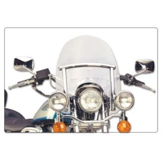 1980 1985 Harley Davidson FXWG Wide Glide Windshield   National Cycle, National Cycle Ranger Heavy Duty