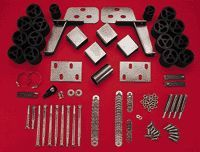 1966 1996 Ford Bronco Body Lift Kit   Performance Accessories, Nylon, Direct fit, With bracket(s)