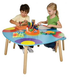 ALEX Toys Ready, Set, Art Table with Art Supplies   Activity Tables
