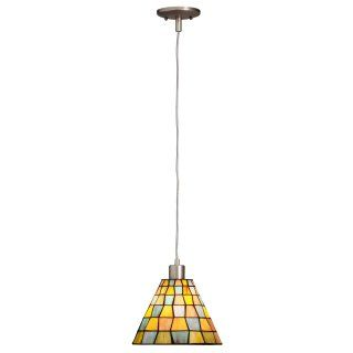 Kichler 65333 Casita Tiffany 1 Light Mini Pendant   6.5W in. Olde Bronze   Tiffany Ceiling Lighting