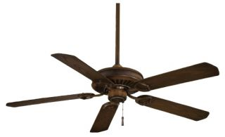 Minka Aire F589 MW Sundowner 54 in. Indoor / Outdoor Ceiling Fan   Mossoro Walnut   ENERGY STAR   Outdoor Ceiling Fans