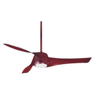 Minka Aire F803 MG Artemis 58 in. Indoor Ceiling Fan   Mahogany Finish   Ceiling Fans