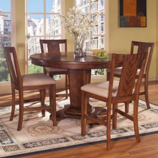Somerton Dwelling Runway 5 piece Counter Height Dining Table Set   Dining Table Sets