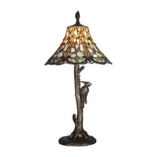 Dale Tiffany Lauralyn Woodpecker Table Lamp   Tiffany Table Lamps