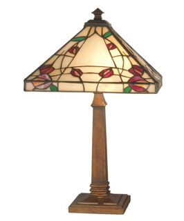 Dale Tiffany Rose Mission Table Lamp   Tiffany Table Lamps