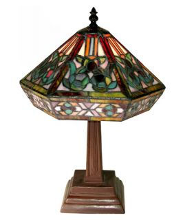 Tiffany Style Mission Table Lamp   Tiffany Table Lamps