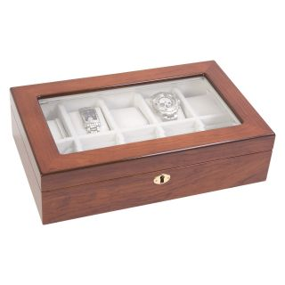 Rosewood High Gloss Watch Box   Watch Winders & Watch Boxes