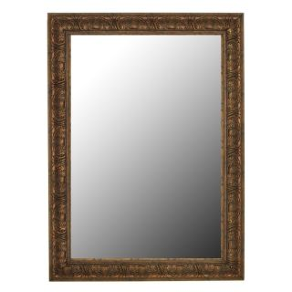 Classic Reflections Light Bronze Gold Wall Mirror   Wall Mirrors