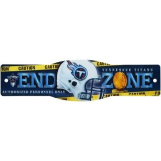Tennessee Titans 4.5 x 17 Street Zone Sign