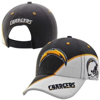 47 Brand San Diego Chargers Full Block Adjustable Hat   Navy Blue/White