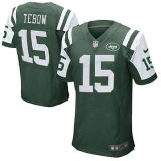 Nike Tim Tebow New York Jets Elite Jersey   Green