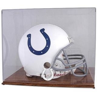 Mounted Memories Indianapolis Colts Oak Helmet Display Case